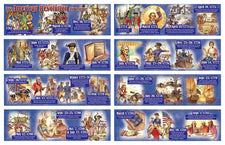 The American Revolution Time Line Mini Bulletin Board Set