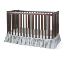 Bare is Best™ Dust Ruffle for Foundation's Full-Size Cribs, Sahara (3 Pack)