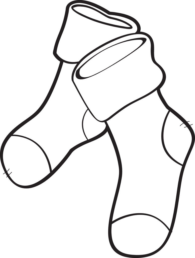 Coloring Pages Of Christmas Stockings - Coloring Home | 1024x775