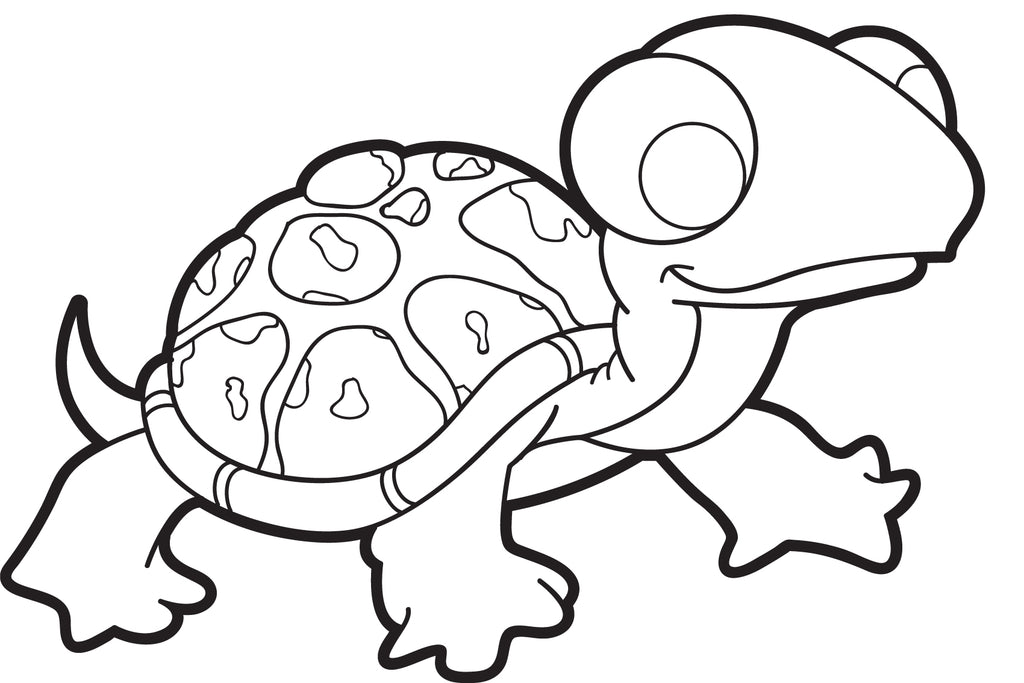 turtle cartoon coloring pages - photo#18