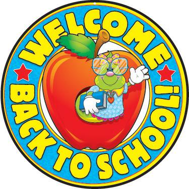 Welcome Back to School! Two-Sided Decorations