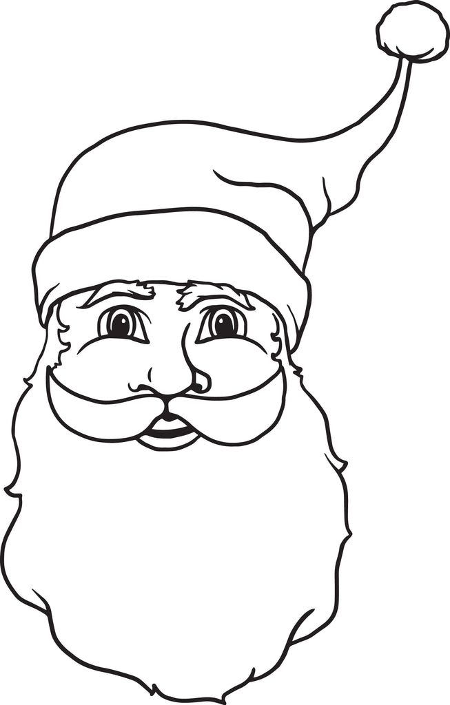 image relating to Printable Santa Claus referred to as Cost-free Printable Santa Claus Coloring Webpage for Little ones #3 SupplyMe