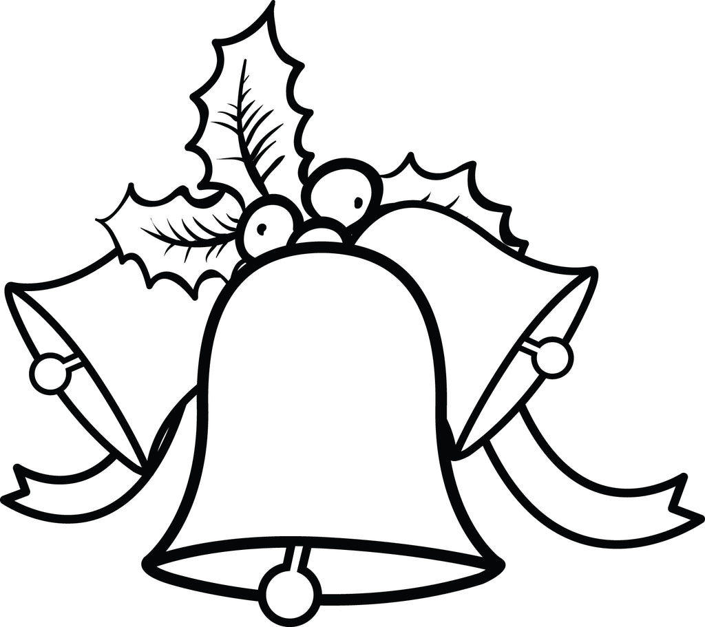 Free Printable Christmas Bells Coloring Page For Kids 1 Supplyme