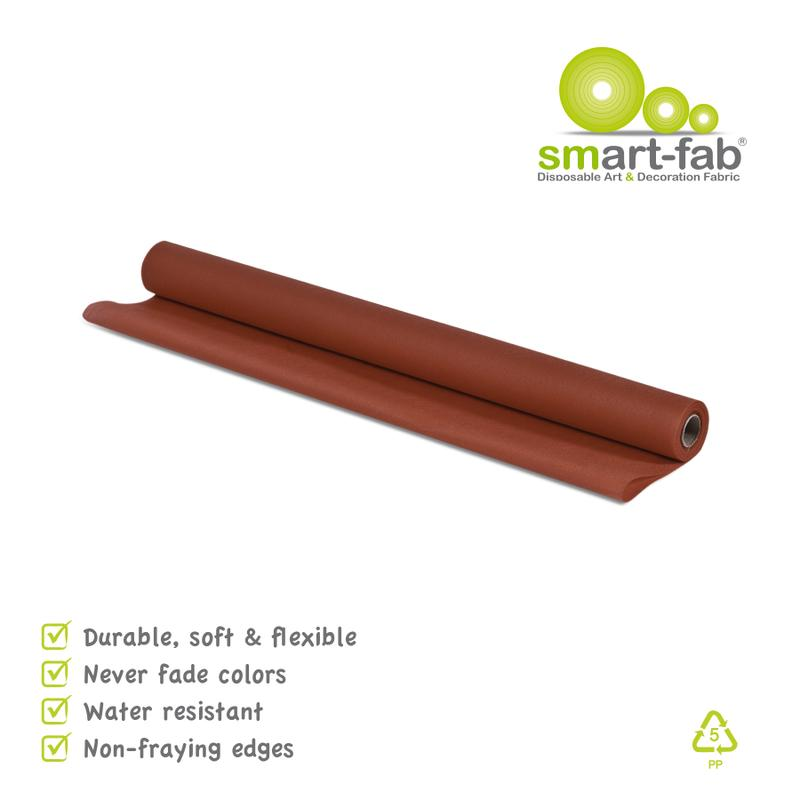 "Smart-Fab® Brown Fabric, 24"" x 18' Roll"