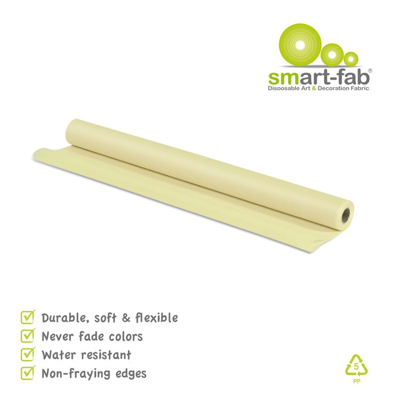"Smart-Fab® Cream Fabric, 24"" x 18' Roll"