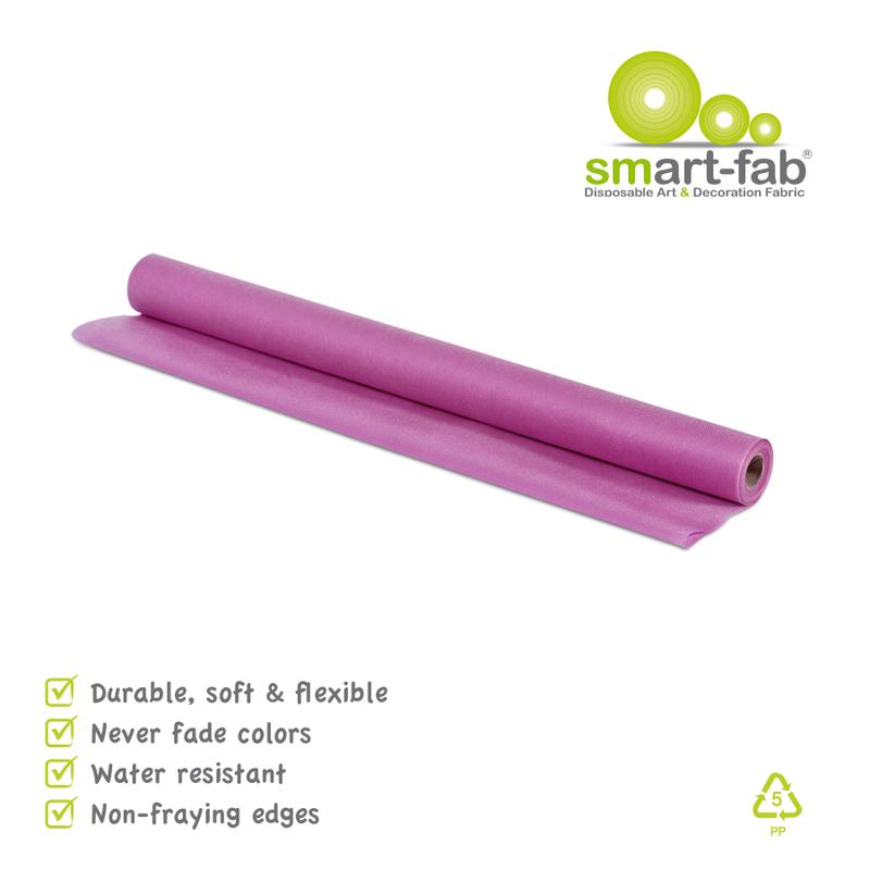 "Smart-Fab® Dark Purple Fabric, 24"" x 18' Roll"
