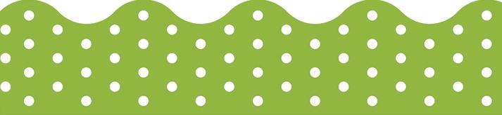 Polka Dots Lime Terrific Trimmers®