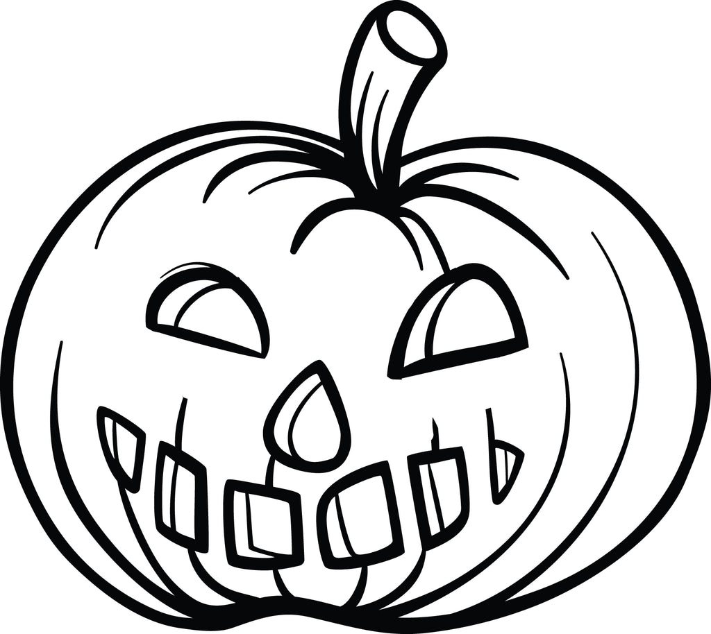 Free printable pumpkin coloring page for kids supplyme for Pumpkin coloring pages free printable