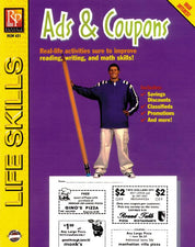Remedia Publications Life Skills Activity Book: Ads & Coupons