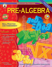 Pre-Algebra Resource Book, Gr 6-8