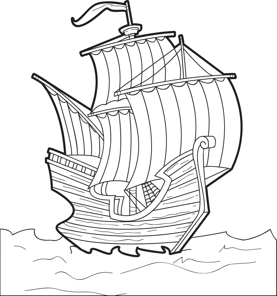 This is a picture of Zany mayflower coloring page