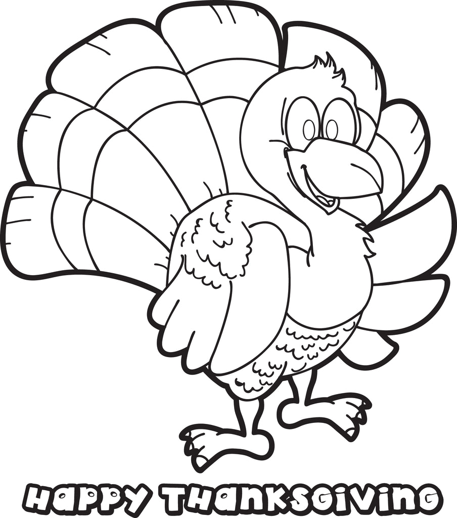 FREE Printable Thanksgiving Turkey
