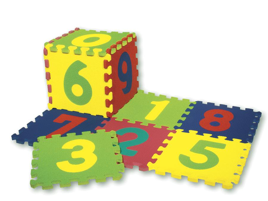 WonderFoam Numbers Puzzle Mat - 20 Pieces