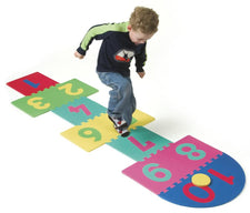 WonderFoam® Hop Scotch Mat - 25 Pieces