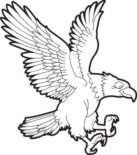 - Printable Bald Eagle Coloring Page For Kids #1 – SupplyMe