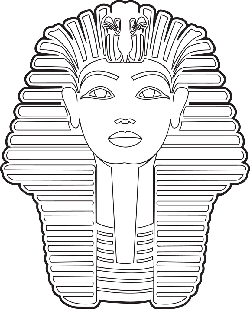 Free Printable Sphinx Coloring Page For Kids Supplyme