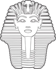Sphinx Coloring Page
