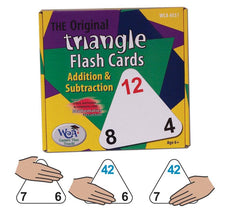 The Original Triangle Flashcards Addition & Subtraction