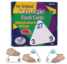 The Original Triangle Flashcards Multiplication & Division
