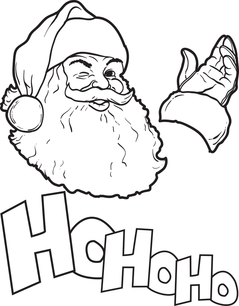 photo about Printable Santa Claus called No cost Printable Santa Claus Coloring Web page for Young children #8 SupplyMe