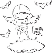 Cupid Coloring Page #8