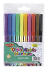 Washable Markers, 10 Pack