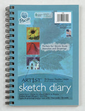 "Art1st® Sketch Diaries, 9"" x 6"", 70 Sheets"