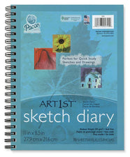 "Art1st® Sketch Diaries, 11"" x 8 1/2"", 70 Sheets"