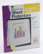Clear Sheet Protectors, 50 Per Box