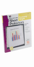 Reduced Glare Sheet Protectors, 50 Per Box