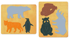 Ellison® SureCut Die Set - Endangered Animals, Large