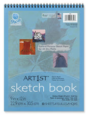 Art1st Sketch Book 9 x 12 30 Sheets White