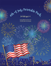 4th of July Printable Pack