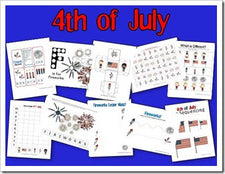 The 4th of July - A Teaching Mommy
