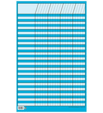 Chart Incentive Small Bright Blue