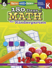 180 Days Of Math Gr K