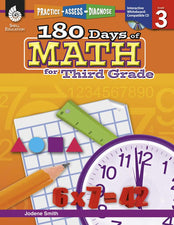 180 Days Of Math Gr 3
