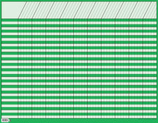 Large Green Horizontal Incentive Chart
