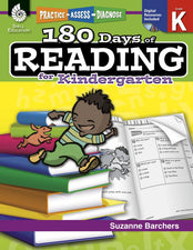 180 Days Of Reading Book For Kindergarten