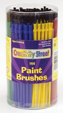 Economy Brushes Canister - 144 Brushes