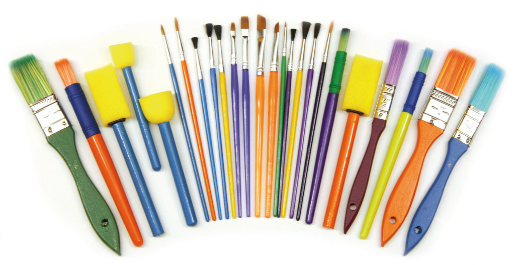 Starter Brush Set - 25 Pieces
