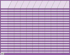 Large Purple Horizontal Incentive Chart