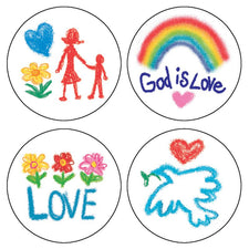 Faith Shape Stickers
