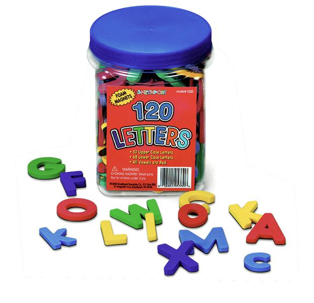Magnetic Foam Letters