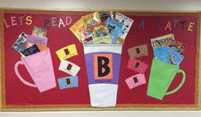 """Let's Read A Latte"" Bulletin Board Idea"