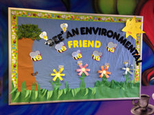 Bee' An Environmental Friend Bulletin Board Idea