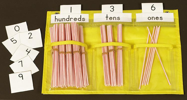 Counting Caddie Pocket Chart