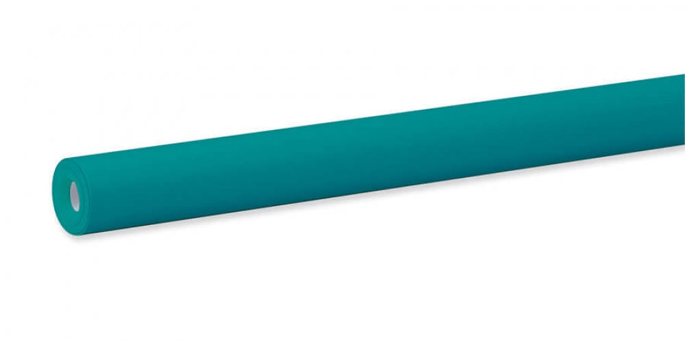 "Pacon Fadeless® Teal Paper, Four 48"" x 12' Rolls"