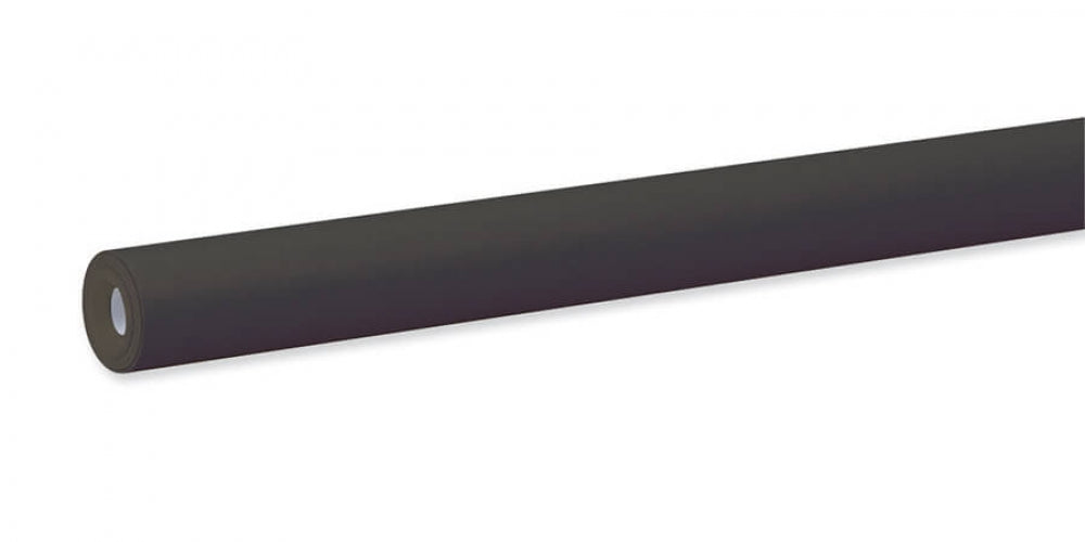 "Pacon Fadeless® Black Paper Roll, 24"" x 12'"
