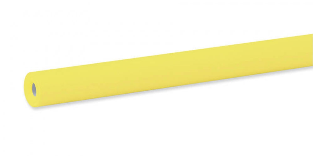 "Pacon Fadeless® Sunshine Yellow Paper, Four 48"" x 12' Rolls"